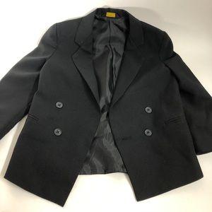 Amherst collection black suit jacket